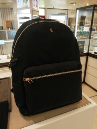 Новый, брендовый рюкзак Ralph Lauren, черного цвета, оригинал - Черкассы, Черкасская область
